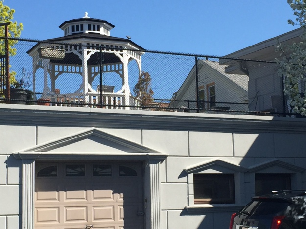 Rooftop Gazebo at Regency Grande to accommodate family gatherings and events!