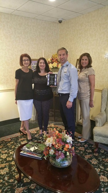 Regency Gardens Receives Prestigious Award From St. Joseph'S